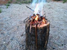 simple campfire