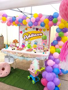 Shopkins Birthday Party via Kara's Party Ideas