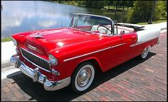 1955 Chevrolet Bel Air Convertible 350 CI, Automatic presented as lot S55 at Kissimmee, FL 2014 - image8
