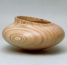 Sehr stylische Vase