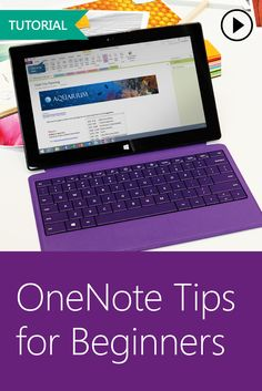 Get started with OneNote in your classroom by watching this simple, interactive tutorial focused on mastering the basics! Computer Help, Computer Programming, Computer Tips, Computer Lessons, Computer Keyboard, One Note Microsoft, Microsoft Office, Microsoft Classroom, One Note Tips