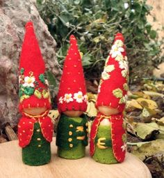 Summer Strawberry Gnome waldorf inspired von paintingpixie auf Etsy, $24,00