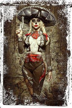 Day Of The Dead Girl, Day Of The Dead Skull, Chicano Love, Chicano Art, Los Muertos Tattoo, Aztecas Art, Day Of The Dead Artwork, Catrina Tattoo, Beautiful Dark Art