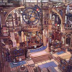 Fantasy Concept Art, Fantasy Map, Fantasy World, Fantasy Artwork, Fantasy Rooms, Fantasy Places, Fantasy Art Landscapes, Fantasy Landscape, Environment Concept Art