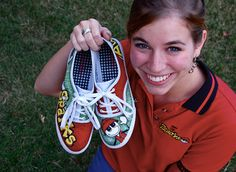 AWANA Shoes by ChaeCherie on Etsy, $86.00 - T, Sparks or Cubbies - She can also combine clubs - Choose Kid or Adult Sizes in Keds or Toms - Too Cute!