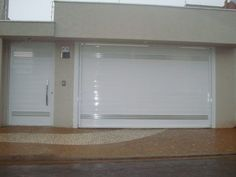 Lindos modelos de PORTÕES DE FERRO   Assuntos da Web Word Design, Gate Design, House Design, Front Wall Design, Window Design, Aluminium Front Door, Modern Garage Doors, Backyard Fences, Exterior Design