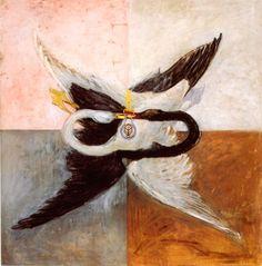 Hilma Af Klint, Swans, 1914