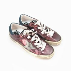 also love in black with silver star by golden goose