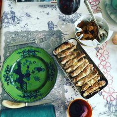 Sunday lunch #myhusbandlunch#thisisnotforme😭#athome #enjoy#involtini#carciofifritti#hatediets😡