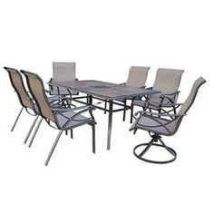 Torrey Pines 7 Piece Dining Set | Nebraska Furniture Mart