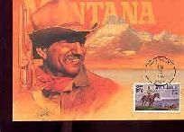 MONTANA STATEHOOD 1ST DAY ISSUE POST CARD