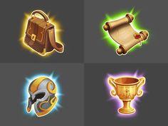 game icon pack by Inga November