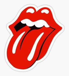 The Rolling Stones Stickers Stickers Cool, Red Bubble Stickers, Tumblr Stickers, Printable Stickers, Laptop Stickers, Black Carpet, Beige Carpet, Fur Carpet, Plush Carpet