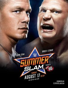 Brock Lesnar Wins Over John Cena In WWE SummerSlam 2014 :- Brock Lesnar is one of the popular sports person of the world. He loves to beating his competitor and he always loves doing fight-fight an. John Cena, Wrestling Posters, Wrestling News, Stephanie Mcmahon, Brock Lesnar, Brie Bella, Randy Orton, Dean Ambrose, Seth Rollins