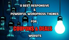 8 Best Responsive Powerful Coupon and Deals WordPress Themes