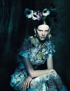 Saskia de Brauw for Vogue Italia March 2014