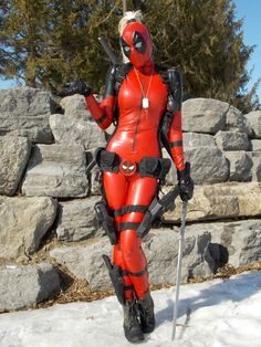 Lady Deadpool by Betty Nukem.