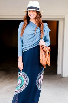 Style Sessions: 4 Ways To Wear A Maxi Dress | theglitterguide.com