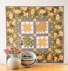 Thimbleberries Autumn Table Topper Kit LQK16285