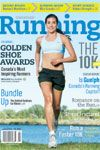 Villanova Star Sheila Reid on the cover of January's issue of Canadian Running.