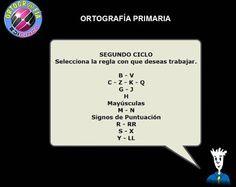 """Ortografía Primaria"" de Edicinco Blog, Cards Against Humanity, School, Texts, Shape, Teaching Resources, Speech Language Therapy, Spanish Language, Blogging"