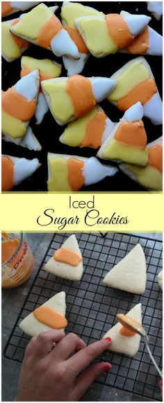 Create these easy Halloween cookies using this Iced Sugar Cookies recipe. Perfect for any holiday and with my easy tips, everyone will have fun making and decorating them!