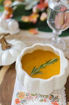 Butternut Squash Soup Ina Garten barefoot contessa butternut and pumpkin soup (made with heavy