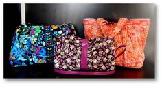 Spring Vera Bradley bags are in! We have some great handbags and totes in that will brighten up your wardrobe! Come in today to shop the best selection!