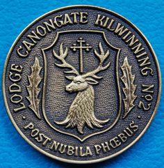 Lodge Canongate Kilwinning No.2, Scotland.