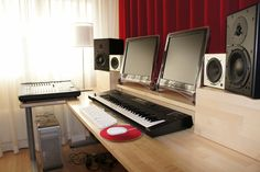 Home studio is a must. It's more than just a place to create it's also a place of meditation and quiet time.