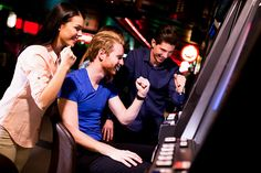 Stock photo - young people at slot machine in the casino James D'arcy, Las Vegas, Health Insurance Companies, Healthy People 2020 Goals, Picture Cards, Health Promotion, Communication Skills, Training Courses