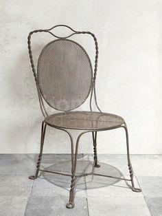 Metal chair ' Sorgues '- Chehoma