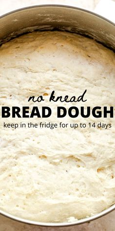 A very simple dough that can be stirred together in minutes, stored in the refrigerator for up to two weeks, and used to make dinner rolls, bread, and more! #noknead #bread #dinnerrolls