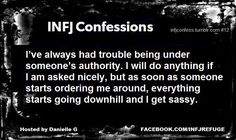 This might be one of the most accurate things I've ever read about myself as an INFJ... 150% correct!