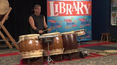 Tampa Taiko Cultural Outreach Program - Collaborative Summer Reading Program - for Libraries, Schools, Camps, Conferences, Festivals and Concerts.