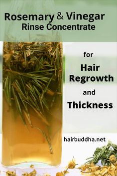Nov 2019 - Rosemary and vinegar rinse concentrate is a fantastic remedy to boost hair growth and reduce hair fall. It's simple to make, give it a try! Grow Long Hair, Grow Hair, Rosemary For Hair Growth, Vinegar For Hair, Vinegar Hair Rinse, Reduce Hair Fall, Hair Specialist, Hair Regrowth, Hair Follicles