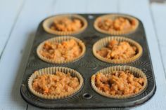 Coconut Flour Morning Glory Muffins #ComfyBelly