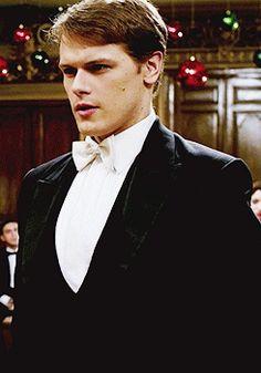 "Sam is my Prince Charming! (Sam Heughan as Prince Ashton in ""A Princess for Christmas"")"