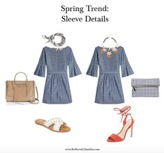 Warm weather is on it's way, and all we want to do is dress for the season! Femininity, ruffles, embroidery – all are influencing this year's big trends for Spring. Here are jus…