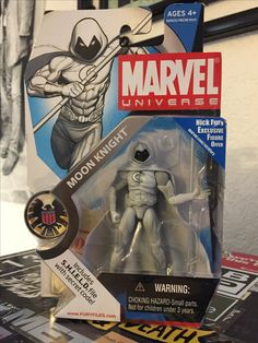 Moon Knight. The Fist of Khonshu. (from my collection)