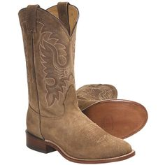 A comfortable, made-in-USA classic, Nocona Waxy Suede cowboy boots suede upper and walking heel offer a new take on a traditional cowboy boot style. Mens Suede Cowboy Boots, Womens Cowgirl Boots, Boots Women, Western Wear, Western Boots, Western Cowboy, Cowgirl Style Outfits, Country Outfits, Western Outfits