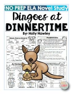 This packet is PRINT and GO ready! No time spent laminating, cutting, or setting up. Print and your kids are ready to use engaging ELA activities that follow K-2 ELA standards with the Magic Tree House series: Dingoes at Dinnertime! This set is perfect for small groups, centers, homework, morning work, or part of your novel study!