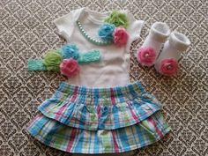 Hey, I found this really awesome Etsy listing at https://www.etsy.com/listing/223513216/baby-girl-newborn-take-home-outfit-socks