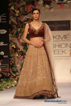 Shyamal & Bhumika - Lakme Fashion Week A/W 2014 Lakme Fashion Week, India Fashion, Ethnic Fashion, Modern Fashion, Women's Fashion, Pakistani Wedding Dresses, Dream Wedding Dresses, Saree Wedding, Bridal Dresses