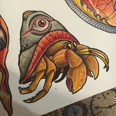 Image result for tattoo snake japanese neo traditional