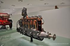 Early Porsche Designed Engine