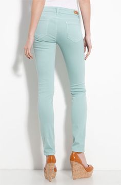 paige denim <3 the color for spring summer....dress w/ dark neutrals for winter fall too