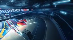 Ice Hockey U18 World Championship Opener by Andrey Sablin, via Behance