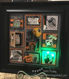 Halloween Sampler :: Confessions of a Stamping Addict Lorri Heiling Design by Gina Shappa, she's amazing! Her blog can be found here: http://www.stampinup.net/esuite/home/ginashappa/