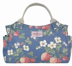 Blue Strawberry Day Bag £50.00 - Cath Kidston - Bags What a Lovely Shop